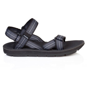 SOURCE Stream Sandalen Heren, chess black